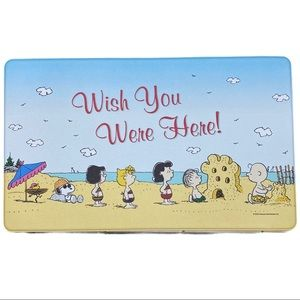 Peanuts Snoopy Kitchen Mat Wish You Were Here NEW